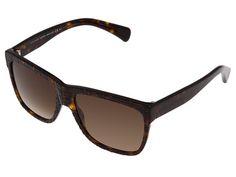 Alexander McQueen AMQ4194/S Dark Havana/Brown Gradient - Zappos.com Free Shipping BOTH Ways