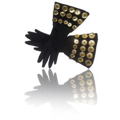 Late 1980s Patrick Kelly Gauntlet Gloves