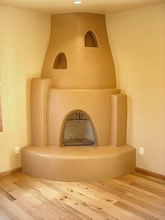 Kiva Fireplace | by Rutherford Design & Construction, Albuquerque ...