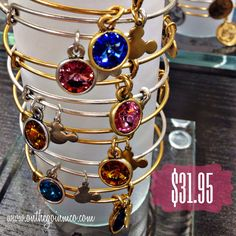 Alex and Ani Disney Birthstone Bracelets