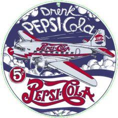 Pepsi-Cola DC-3 Airplane