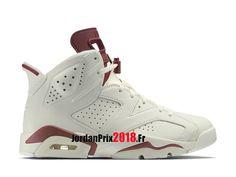 factory price 8db44 41390 Chaussure Basket Jordan Prix Pour Femme Enfant Air Jordan 6 Retro Maroon  384664-116
