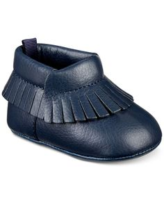 First Impressions Fringe Moccasins, Baby Boys (0-4), Only at Macy's