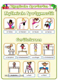 Olympische Sommerspiele 2016 _ Sportarten 5 _ Bildwörterbuch * AB + sw_version