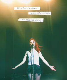 Paramore - Last Hope - This picture looks apocalyptic Band Quotes, Lyric Quotes, Paramore Quotes, Paramore Lyrics, Music Is My Escape, Music Is Life, My Music, Paramore Hayley Williams, Fun Live