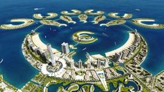 One of the most unique island cities in the world: Durrat al Bahrain  #jetsettercurator