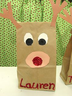 *Lil Country Kindergarten*: Rudolph Craft & Writing Prompt {Printables}