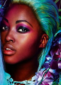 """""""Dreaming in Color"""" by Mario Testino for Allure March 2012"""