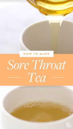 This Is the Best Tea for Soothing a Sore Throat remedies baking soda remedies diy home remedies skin care remedies sore throat remedies treats Drinks For Sore Throat, Sore Throat Remedies For Adults, Sore Throat Relief, Oils For Sore Throat, Sore Throat And Cough, Sooth Sore Throat, Honey For Sore Throat, Honey Tea Recipe, Tea For Cough