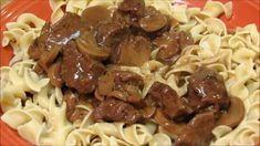 Beef and Noodles with Mushroom Gravy - YouTube