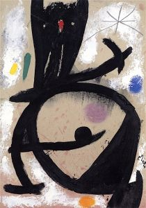 Figure, Star - Joan Miró - The Athenaeum
