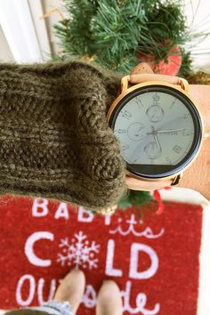 'Tis the season for holiday gifts (like the Q Wander display smartwatch), sweaters, boots and holiday decor. via @ whereyourheartisnow