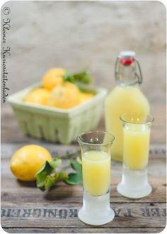 Limoncello ~ italienischer Zitronenlikör