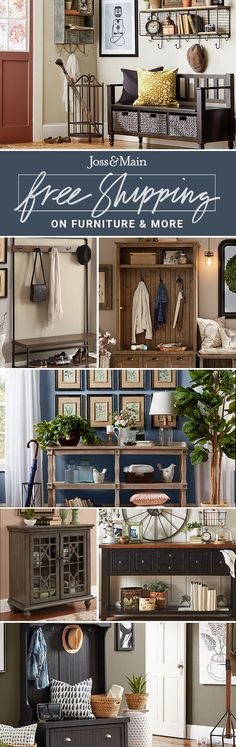 Entryway and hallway furniture at jossandmain.com! Sign up to find out more about FREE SHIPPING on all orders over $49!
