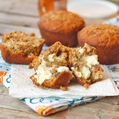 Good and Easy bran muffins made with Rasin Bran Cereal. I added a little cinnamon & applesauce and cut back on the oil and sugar.