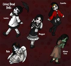 They want to play with you!: Living Dead Dolls Inspired Art