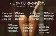 7 day build a booty