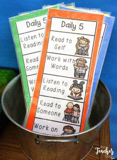 Daily Daily five, Daily 5 kindergarten, Daily 5 centers, Daily five cafe, Daily 5 math - They are doing it! My kids are actually doing daily five and really enjoying it My grade level partners and - First Grade Science, First Grade Activities, First Grade Reading, First Grade Classroom, Letter Activities, Daily 5 Kindergarten, Daily 5 Math, Daily 3, Daily 5 Reading