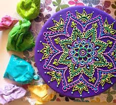 """Képtalálat a következőre: """"mandala henna cake stencils embosser"""""""