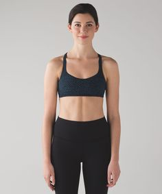 This barely-there bra feels as  light as your post-practice  spirits.