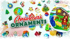 Christmas Decorations For Kids, Painted Christmas Ornaments, Diy Christmas, Drawings, Painting, Painting Art, Sketches, Paintings, Drawing