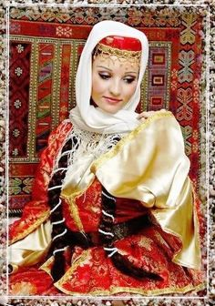 Iranian lady in Lovely Azari traditional clothing - IRAN  Iran has many different ethnic groups each with their own lovely costumes and traditions
