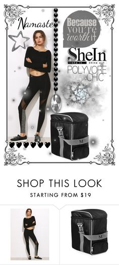 """""""shein leggings"""" by summer-marin ❤ liked on Polyvore featuring Cathy's Concepts"""