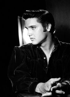 Elvis Presley publicity photo for 'Love Me Tender', 1956.