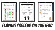 Growing Play: Playing Pretend on the iPad