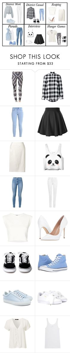 """""""(48th One)"""" by tfryer ❤ liked on Polyvore featuring Golden Goose, Lands' End, 7 For All Mankind, WearAll, Puma, Steve Madden, Converse, Givenchy, Juvia and Rebecca Taylor"""