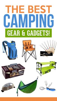 Camping Gear and Gadgets #campinggear #campinglist