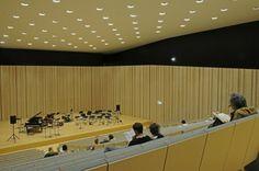 Interior design - Minimalist architecture Music School In Lisbon