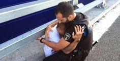 El abrazo que salvó a un hombre que estaba a punto de suicidarse