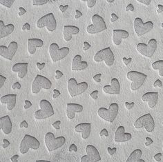 minky embossed hearts