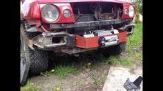 Nissan Terrano II montaż wyciągarki Nissan Terrano Ii, 4x4, Cars And Motorcycles, Antique Cars, Monster Trucks, Golf, Classic, Youtube, Jeeps
