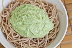 IMG 0185 thumb   15 Minute Creamy Avocado Pasta
