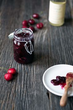 This Brandied Cherry Jam is easy and quick to prepare, and it tastes absolutely sinful on biscuits and scones. Perfect for Sunday brunch! Get the recipe from SavorySimple.net.