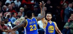 PORTLAND, Ore. -- The Golden State Warriors wasted no time exerting their authority in Game 4 of their first-round playoff series with the…