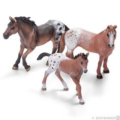 schleich family horse | APPALOOSA HORSE FAMILY by Schleich; NEW 2013/horses/toy/Appy | eBay