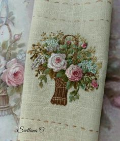 Wonderful Ribbon Embroidery Flowers by Hand Ideas. Enchanting Ribbon Embroidery Flowers by Hand Ideas. Hardanger Embroidery, Learn Embroidery, Silk Ribbon Embroidery, Crewel Embroidery, Embroidery Designs, Hand Embroidery Patterns, Embroidery Kits, Machine Embroidery, Embroidery Supplies