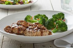Chicken Marsala - Wood-grilled and topped with mushrooms and our Lombardo Marsala wine sauce