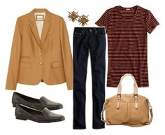 """""""wearing 9/19/11"""" by egyptomaniac ❤ liked on Polyvore featuring J.Crew, L.L.Bean, women's clothing, women, female, woman, misses and juniors"""