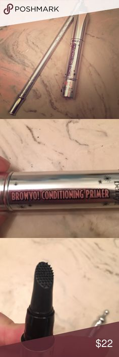 Use code BOUIR when you sign up! Browvo! & Brow Shaping Tool Create perfect brows with Benefit's brow conditioning primer and brow shaping tool. Both came in a brow kit and have never been used before. Original box is also listed in my closet as a makeup storage box. Receive for FREE when you purchase this listing! Primer alone is sold for $28, so this is a steal! ❌no trades❌ Benefit Makeup