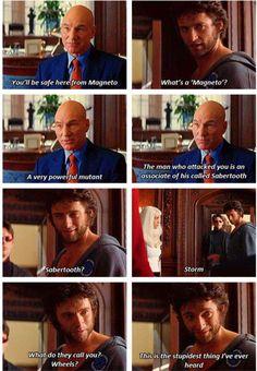 Wolverine telling it like it is
