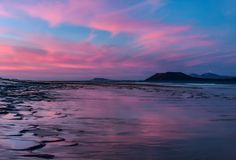 Sunset during low tide ~ http://hdrphotographer.blogspot.com/2012/10/sunset-during-low-tide.html