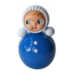 Tuimelaar pop blauw 15 cm