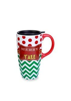 Home Accents  Merry Christmas YAll Latte Mug