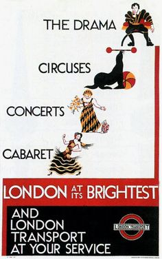 London at it's Brightest - London transport at your service - 1934