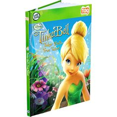 LeapFrog Tag Activity Storybook Tinker Bell's True Talent, (Requires the Tag Jr buddy which she doesn't have its on her christmas list )