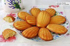 Receta de madeleines de almendra